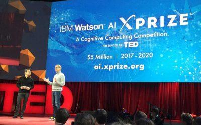 1st prize – IBM Watson AI XPRIZE's Milestone awards